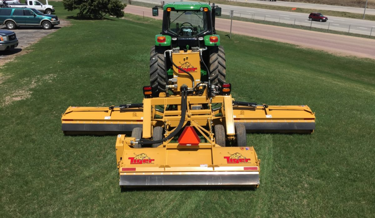 Triple Threat | Tiger Mowers