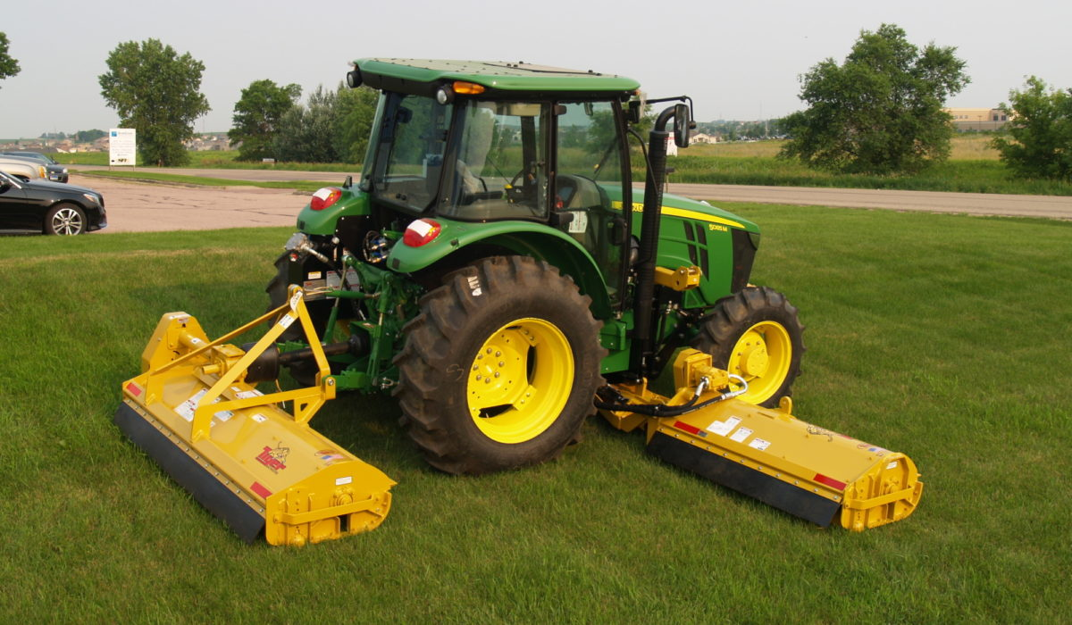 Super Duty Twin Flail | Tiger Mowers