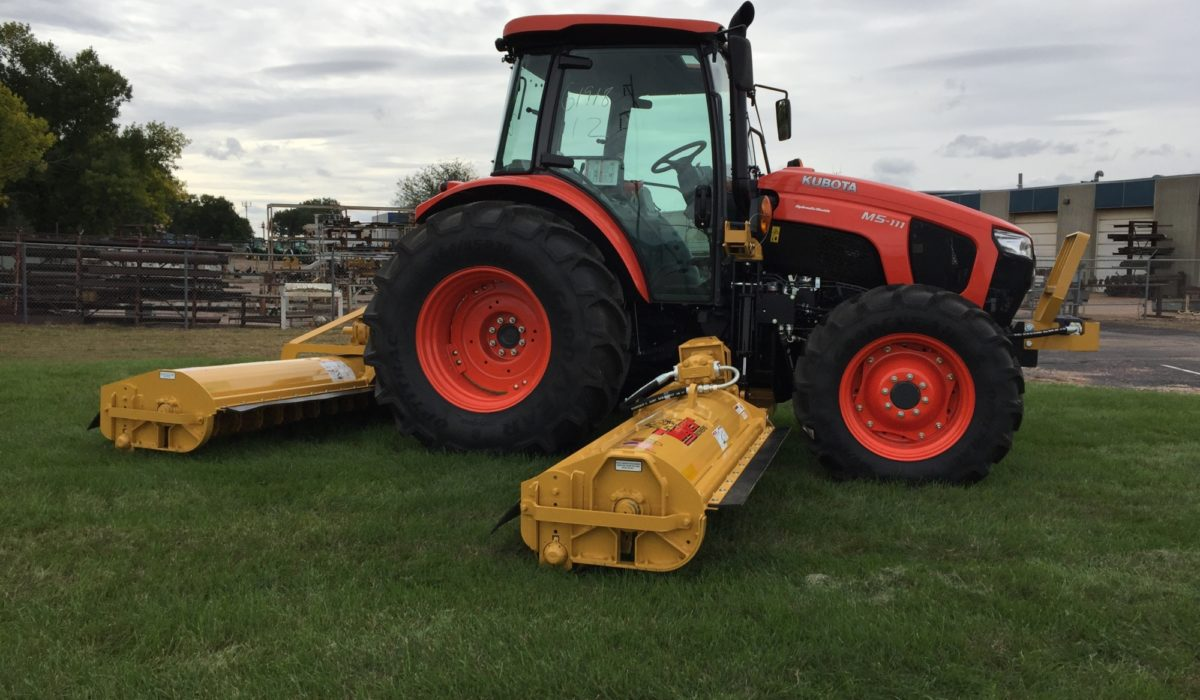 Super Duty Twin Flail   Tiger Mowers